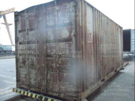 Изображение 20-футовый б/у контейнер №0273386