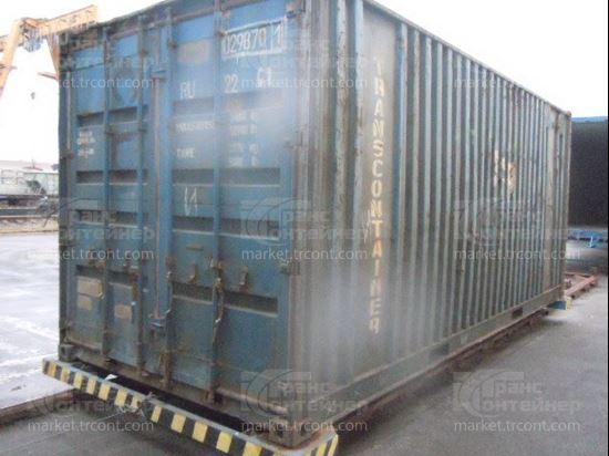 Изображение 20-футовый б/у контейнер №0298701