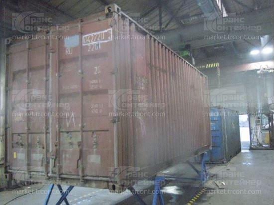 Изображение 20-футовый б/у контейнер №0427202