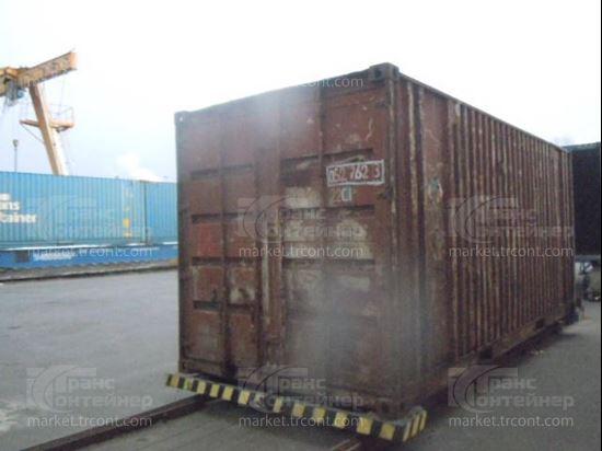 Изображение 20-футовый б/у контейнер №0527623
