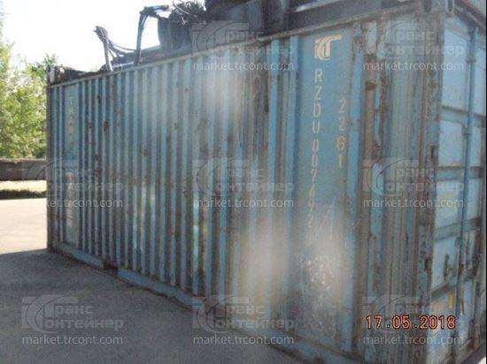 Изображение 20-футовый б/у контейнер №0074928