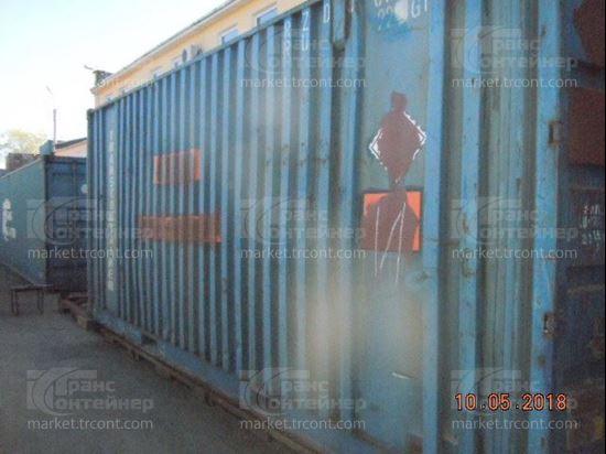 Изображение 20-футовый б/у контейнер №0120068