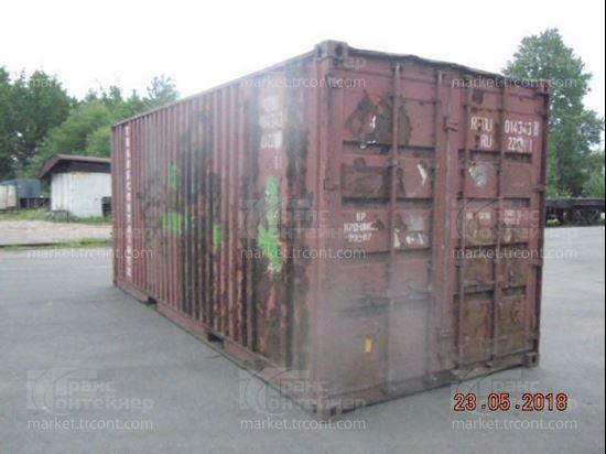 Изображение 20-футовый б/у контейнер №0143438
