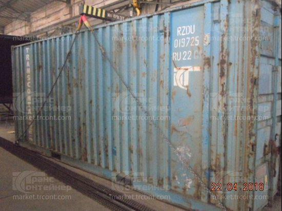 Изображение 20-футовый б/у контейнер №0197250