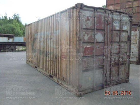 Изображение 20-футовый б/у контейнер №0269766