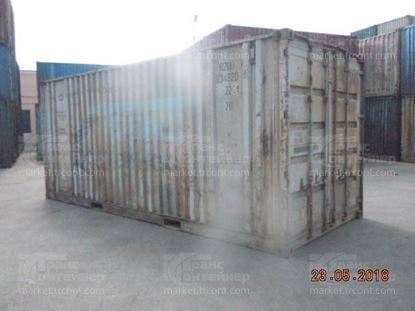 Изображение 20-футовый б/у контейнер №0348206