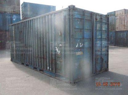 Изображение 20-футовый б/у контейнер №0547717
