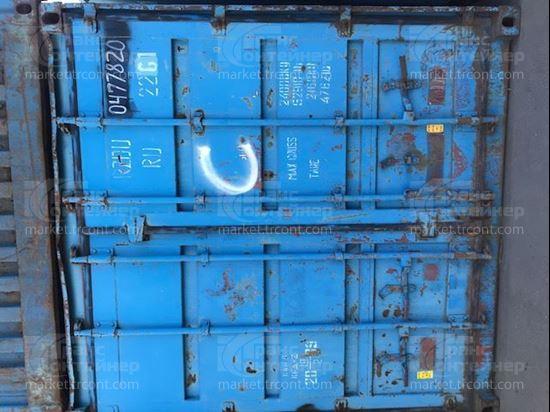 Изображение 20-футовый б/у контейнер №0477820