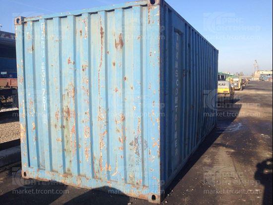 Изображение 20-футовый б/у контейнер №0317611