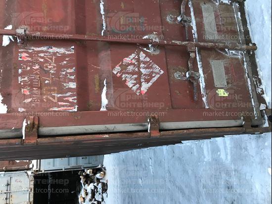 Изображение 20-футовый б/у контейнер №0483588