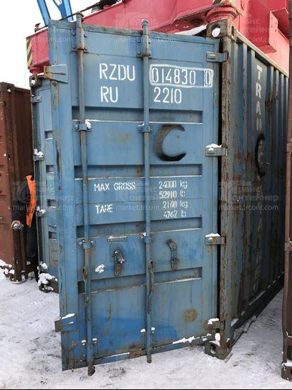 Изображение 20-футовый б/у контейнер №0148300