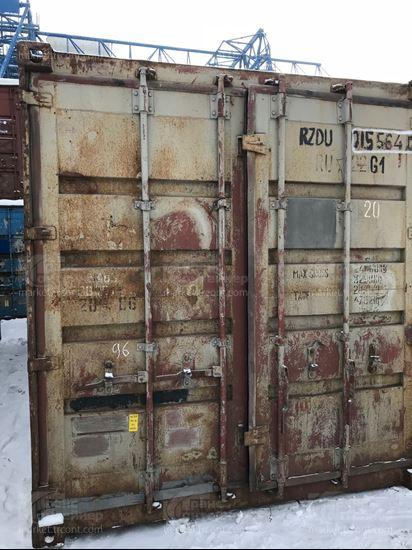 Изображение 20-футовый б/у контейнер №0155640