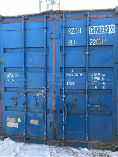 Изображение 20-футовый б/у контейнер №0173896