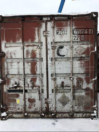 Изображение 20-футовый б/у контейнер №0188812