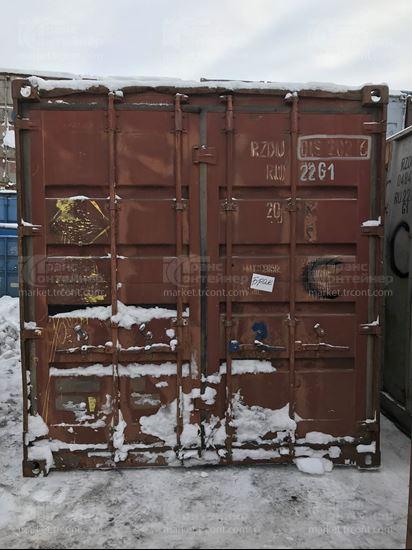 Изображение 20-футовый б/у контейнер №0192026