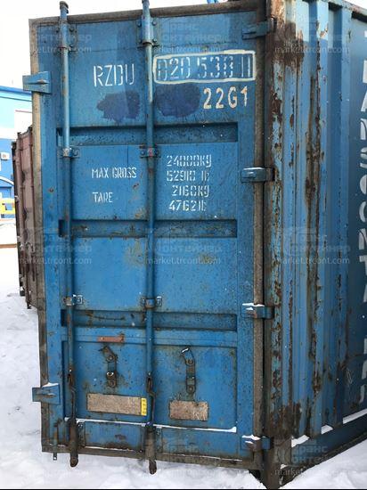 Изображение 20-футовый б/у контейнер №0205381