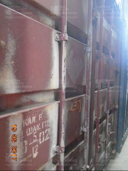 Изображение 20-футовый б/у контейнер №0207620