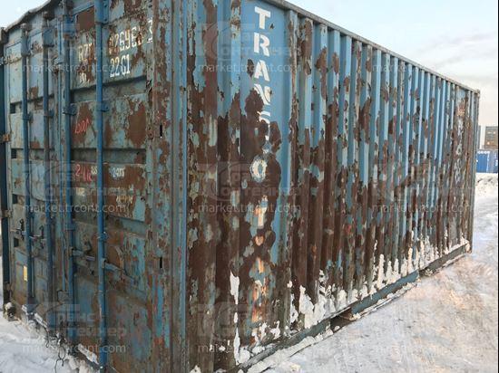 Изображение 20-футовый б/у контейнер №0269663