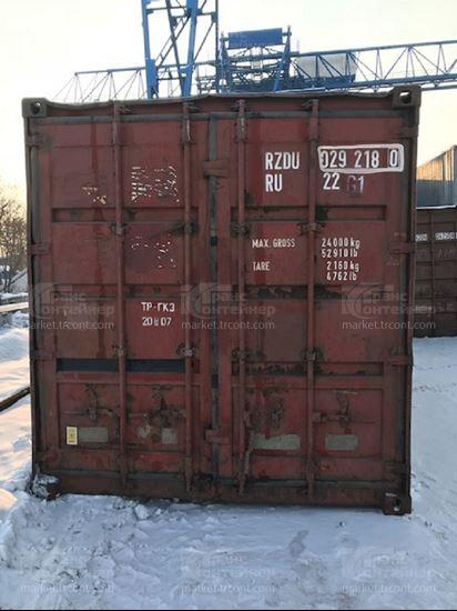 Изображение 20-футовый б/у контейнер №0292180