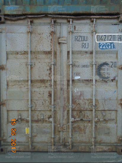 Изображение 20-футовый б/у контейнер №0421204