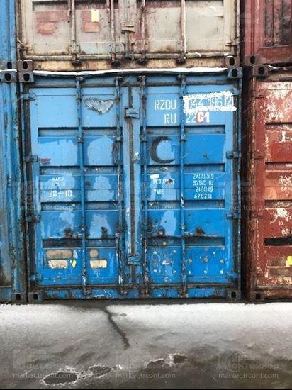 Изображение 20-футовый б/у контейнер №0441962