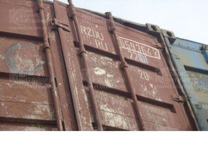 Изображение 20-футовый б/у контейнер №0593646