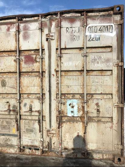 Изображение 20-футовый б/у контейнер №0104010