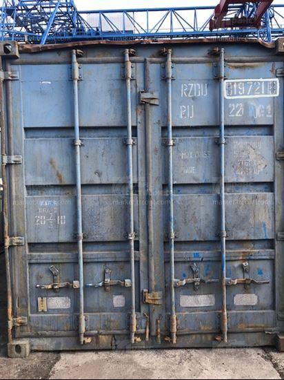Изображение 20-футовый б/у контейнер №0197218