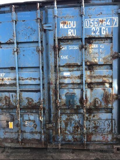 Изображение 20-футовый б/у контейнер №0567647