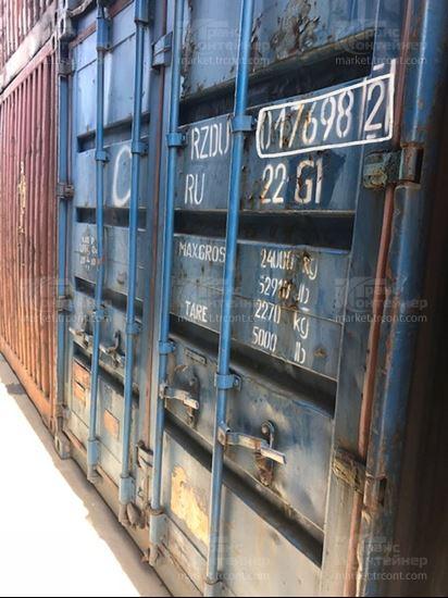 Изображение 20-футовый б/у контейнер №0176982
