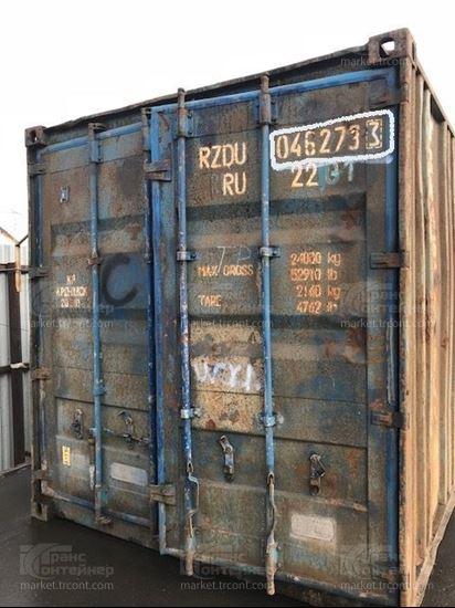 Изображение 20-футовый б/у контейнер №0462733