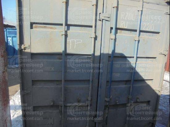 Изображение 20-футовый б/у контейнер №0315558