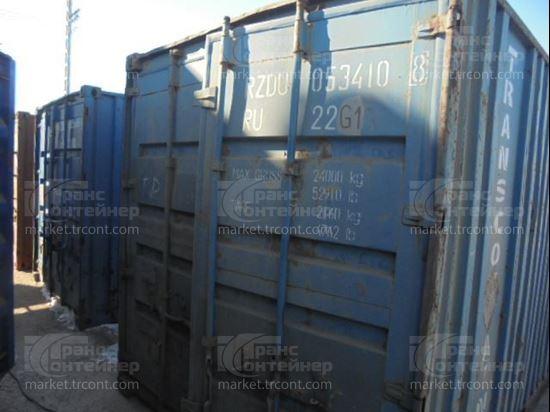 Изображение 20-футовый б/у контейнер №0534108