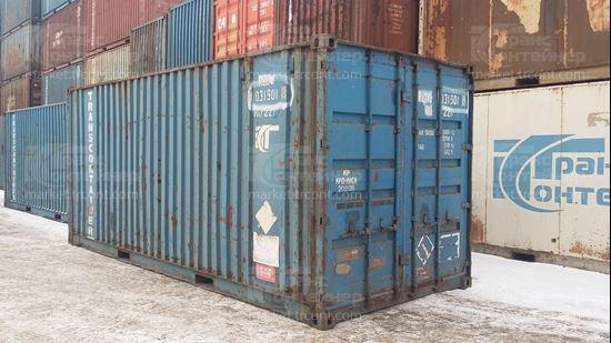 Изображение 20-футовый б/у контейнер №0319018
