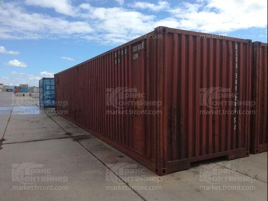 Изображение 40-футовый б/у контейнер №5000065