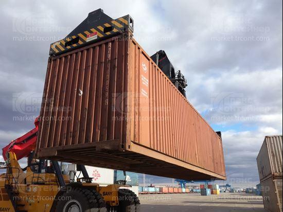 Изображение 40-футовый б/у контейнер №5000595