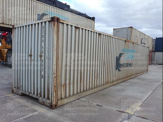Изображение 40-футовый б/у контейнер №5019538