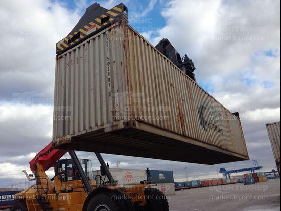 Изображение 40-футовый б/у контейнер №5029074
