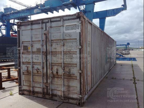 Изображение 40-футовый б/у контейнер №5011985