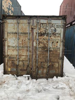 Изображение 20-футовый б/у контейнер №0458292