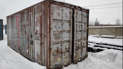 Изображение 20-футовый б/у контейнер №0008079