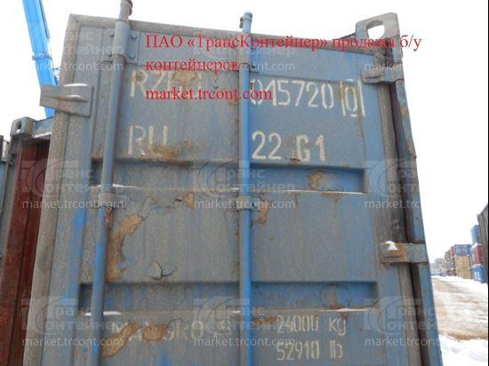 Изображение 20-футовый б/у контейнер №0157200
