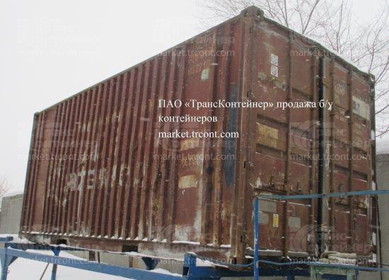 Изображение 20-футовый б/у контейнер №0280430