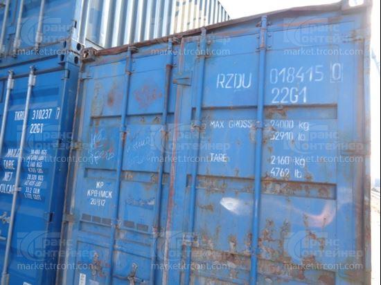 Изображение 20-футовый б/у контейнер №0184150