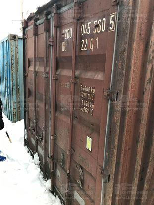 Изображение 20-футовый б/у контейнер №0455605