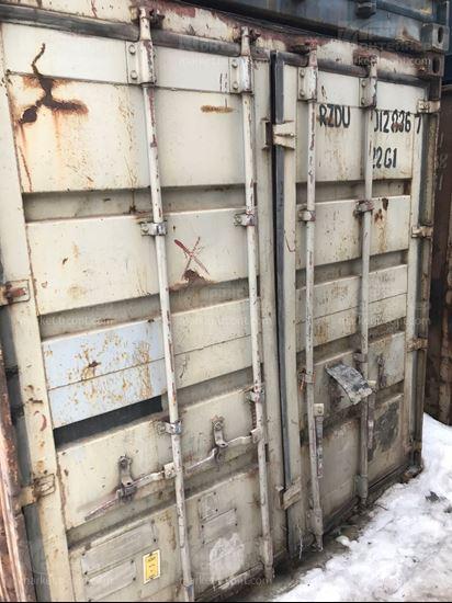 Изображение 20-футовый б/у контейнер №0128367