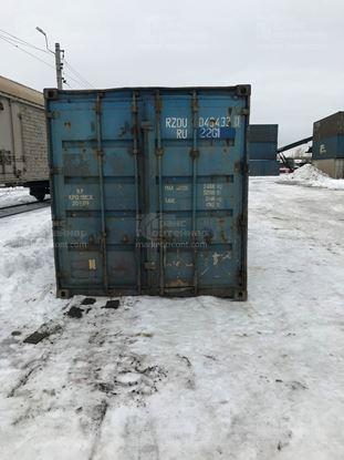 Изображение 20-футовый б/у контейнер №0434330