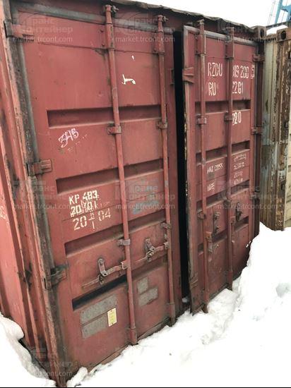 Изображение 20-футовый б/у контейнер №0192005