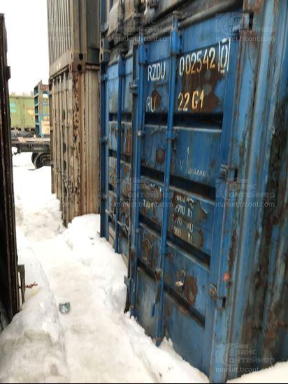 Изображение 20-футовый б/у контейнер №0025420