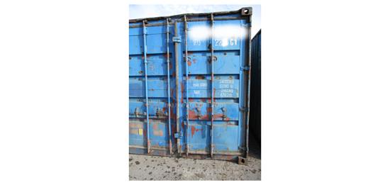 Изображение 20-футовый б/у контейнер №0173561